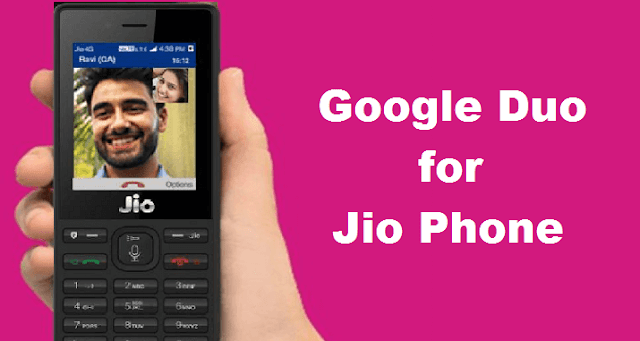 google Duo for Jio Phone