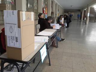 LA ESCUELA DONDE SE VOTA EN SAN PEDRO EL LUNES ESTÁ DE JORNADA DE REFLEXIÓN