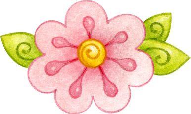 Dibujos De Flores De Colores Para Imprimir