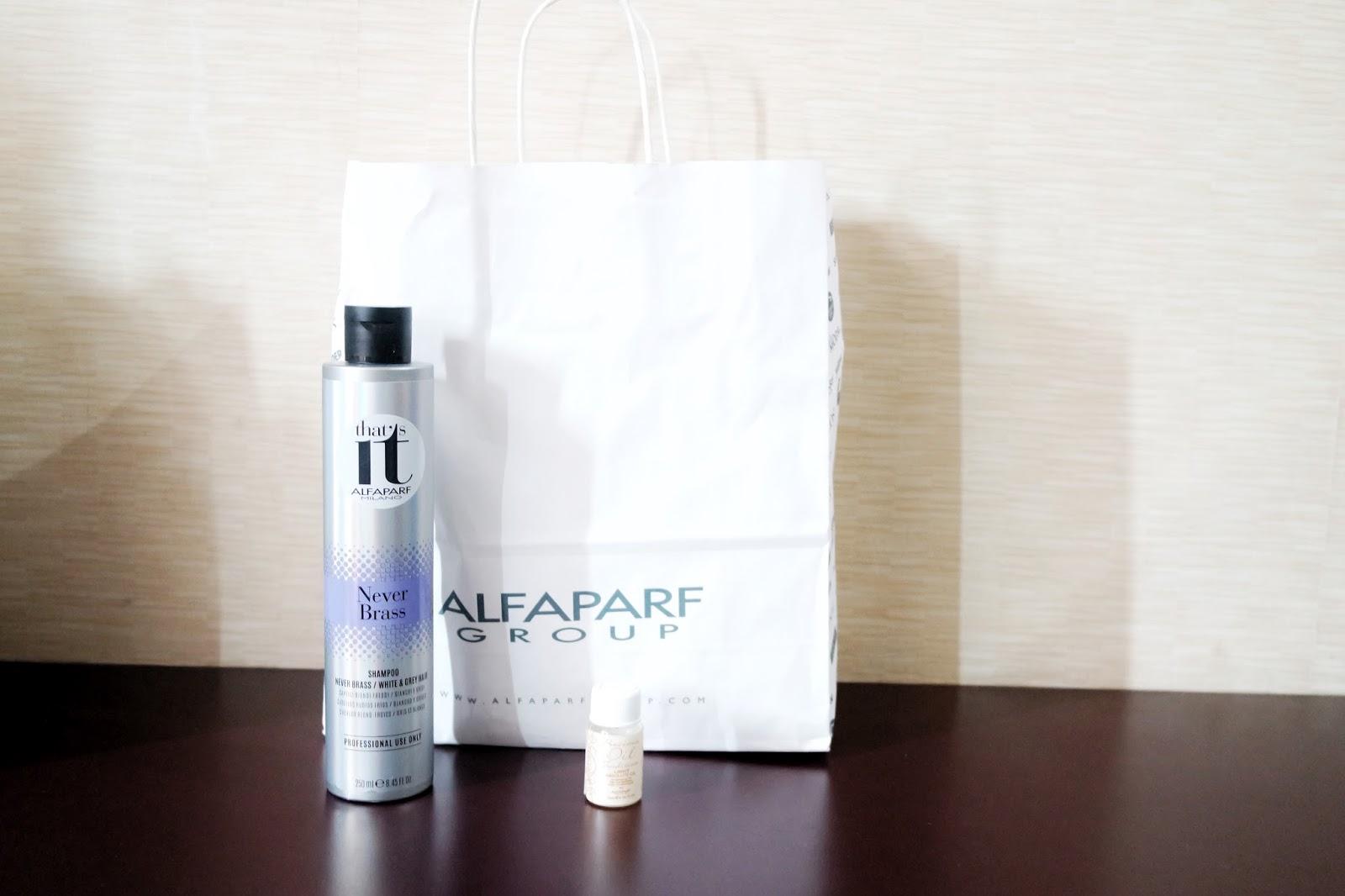 Amar Jomunar Zol Ash Grey Hair With Alfaparf Milano