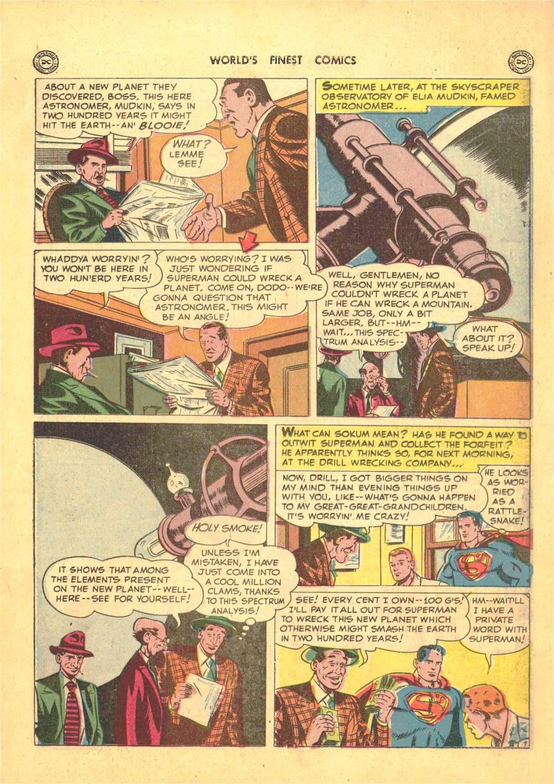 Read online World's Finest Comics comic -  Issue #50 - 9