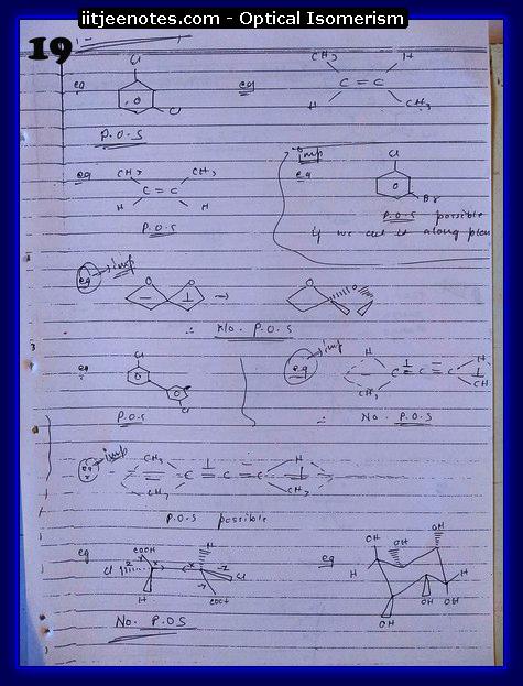 Optical Isomerism Notes 2