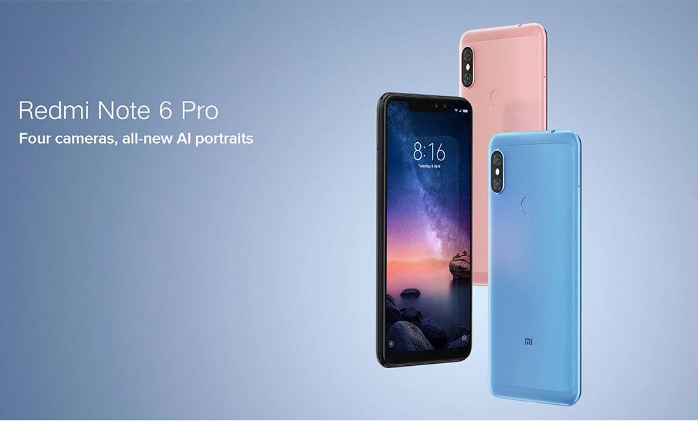 Xiaomi Redmi Note 6 Pro Snapdragon 660 atau 636