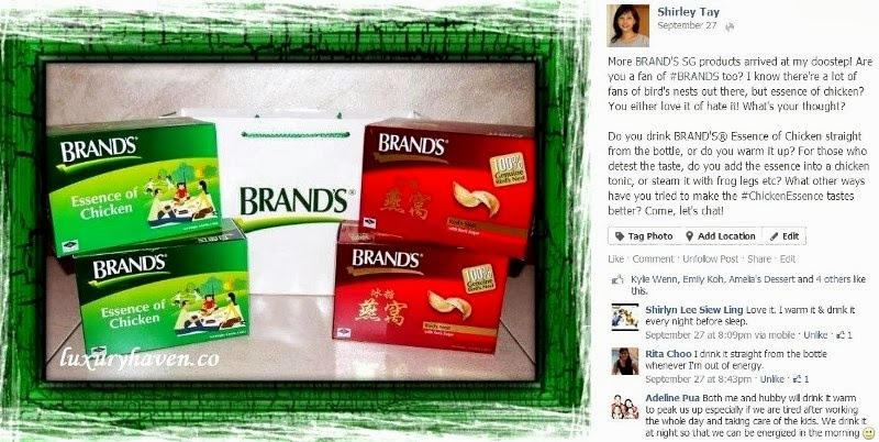 brands chicken essence facebook