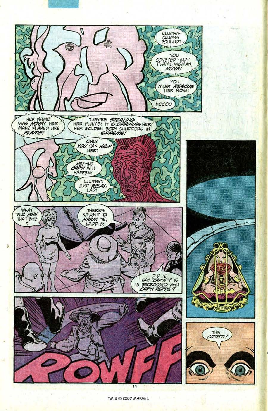Read online Silver Surfer (1987) comic -  Issue #12 - 16