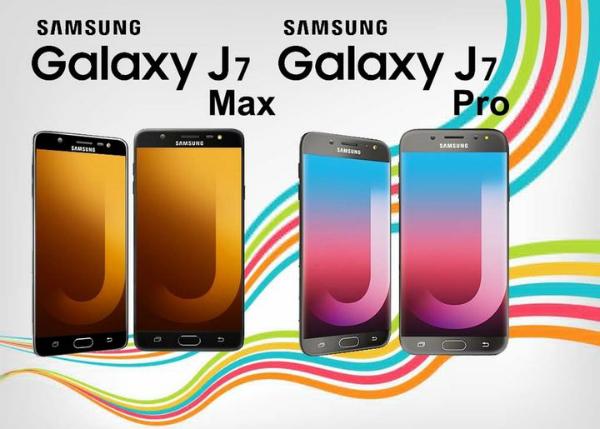 سامسونغ تكشف عن هاتفيها الجديدين غالاكسي جي 7 ماكس وجي 7 برو