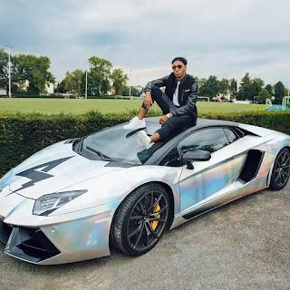 Dortmund star Aubameyang buys N72m Lamborghini