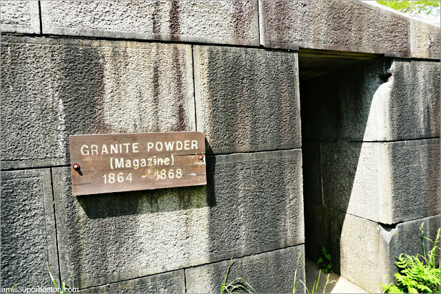 Granite Powder del Fort McClary State Historic Site en Kittery, Maine