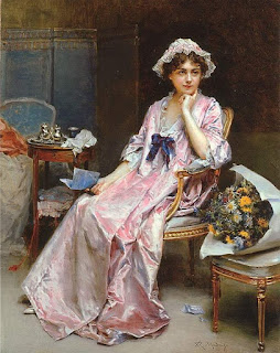 Raimundo de Madrazo y Garreta - The Reluctant Mistress