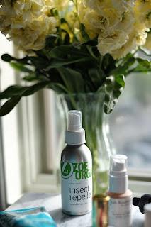 Zoe Organics Insect Repellent