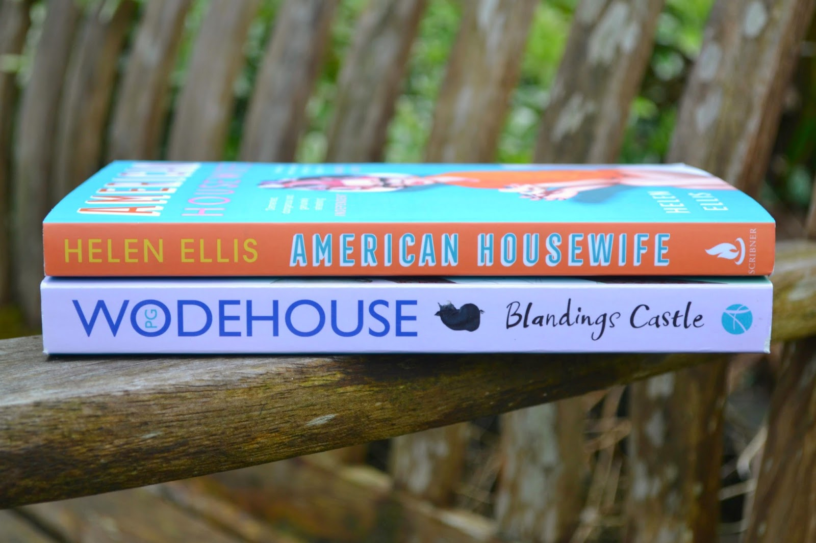 American Housewife by Helen Ellis and Blandings Castle.. And Elsewhere by P. G. Wodehouse