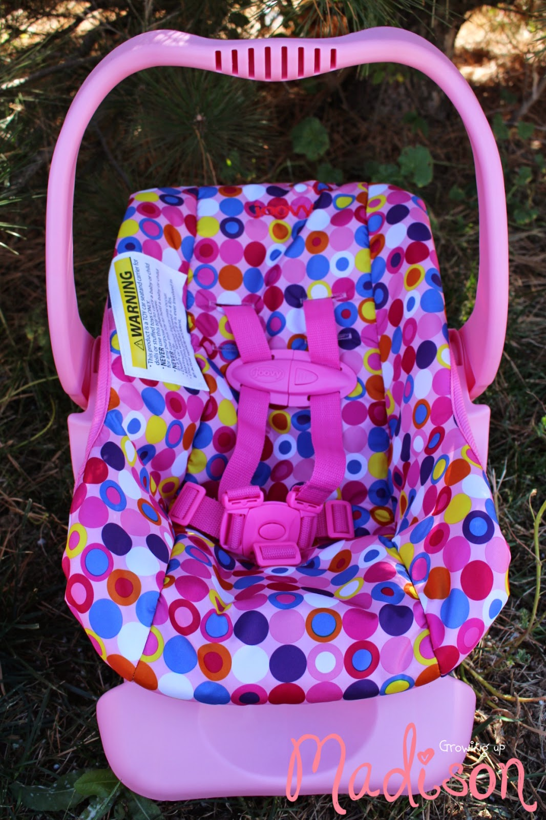Joovy Toy Car Seat - It\'s the Real Deal - AnnMarie John