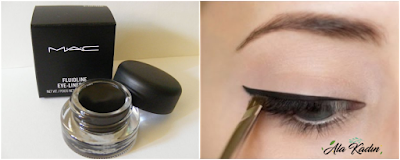 Jel eyeliner arayanlara tavsiye Mac Jel Eyeliner