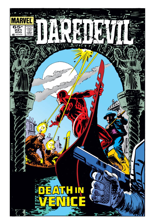 Daredevil (1964) 221 Page 0