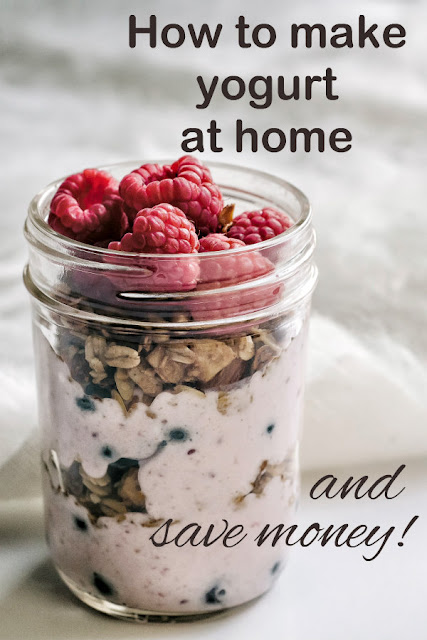It's so easy to make yogurt at home. It's healthier and you'll save money. Here's how you can make yogurt at home and save money.