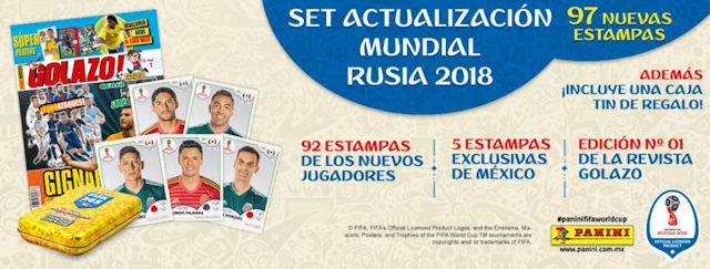 2aad379be FIFA World Cup Russia 2018 Sticker Collection Panini Mexico 682 stickers