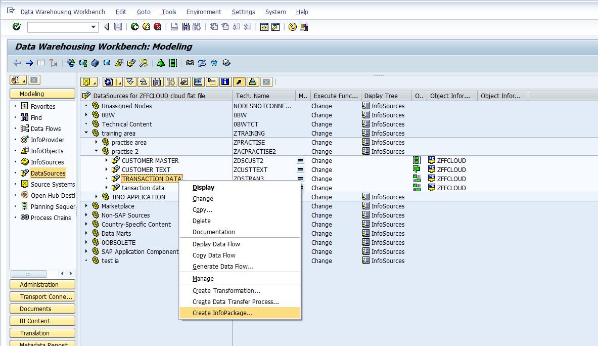 Loading transaction data from flat file to DSO   SAP BI, SAP BW