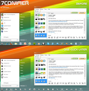 7 Conifier – Rubah Icon Windows 7