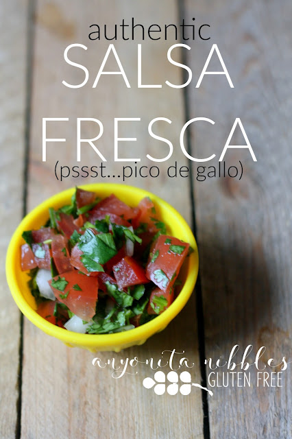 Authentic Salsa Fresca or Pico de Gallo from Anyonita-nibbles.co.uk