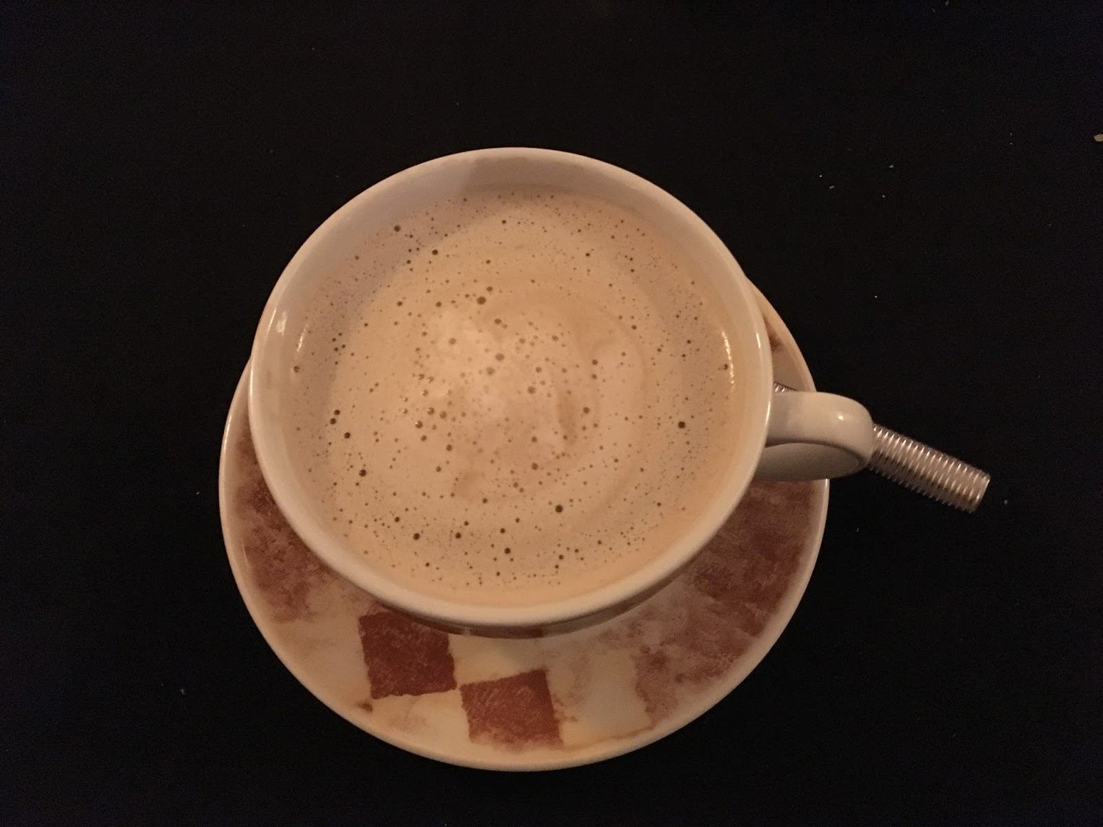Milky coffee