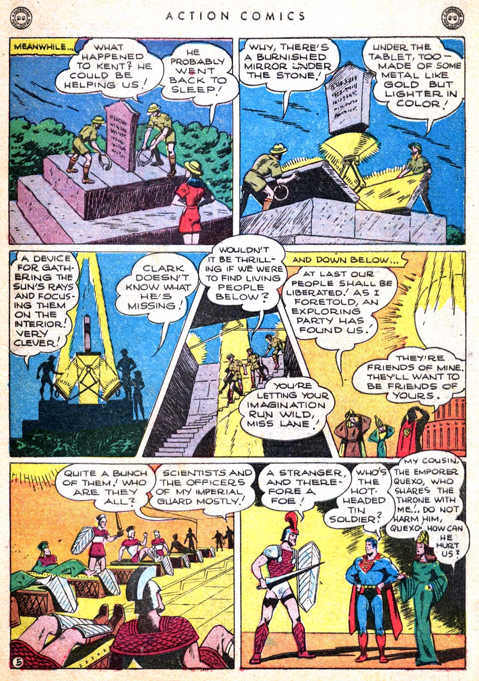 Read online Action Comics (1938) comic -  Issue #103 - 7