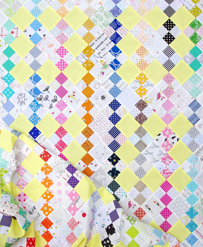 Summer Rain Quilt | Work in Progress | Red Pepper Quilts 2016