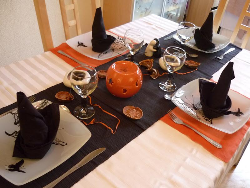 La Chef A Mesa de Halloween 2011