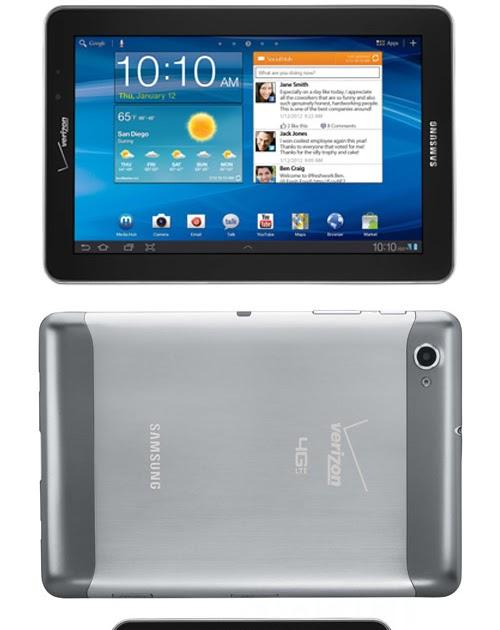 Verizon android tablet manual