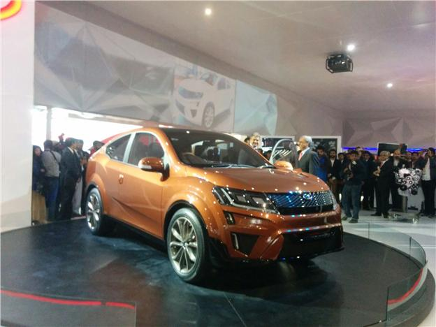 Mahindra Xuv Aero Concept Revealed At Auto Expo Hi Tech Info