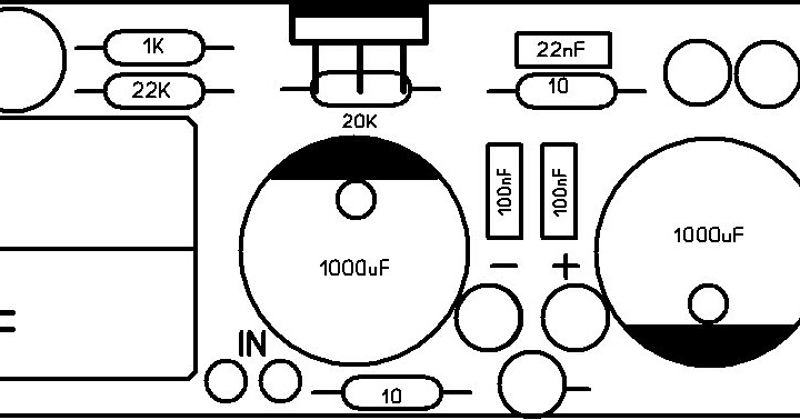 diy electronics projects  gainclone pcb layout