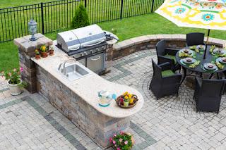 Outdoor Kitchen Layout