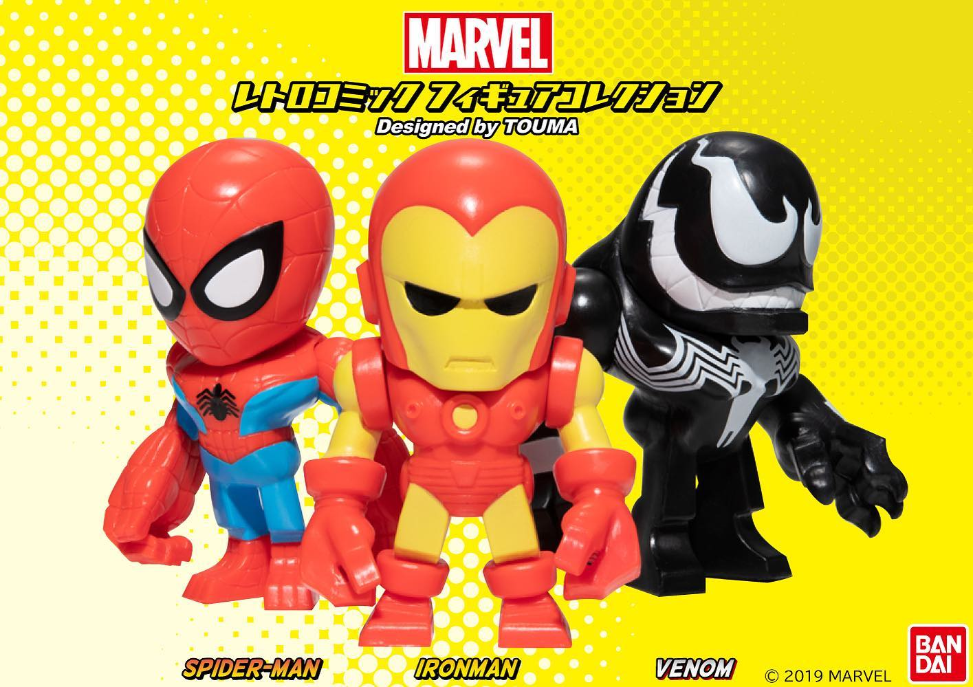New Marvel Comic Characters Gacha Designed by TOUMA