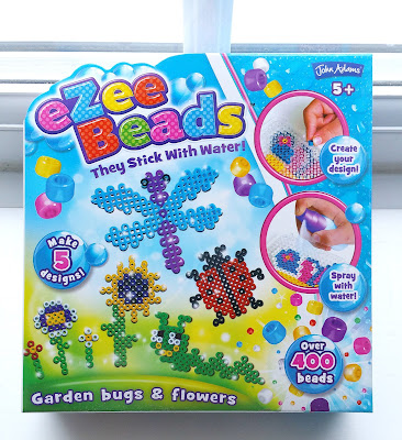 eZee Beads self adhesive beads, garden bugs and flowers, beads