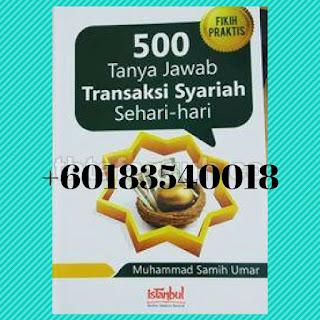 500 Tanya Jawab Dagangan Syariah Sehari Hari I Najiha Online