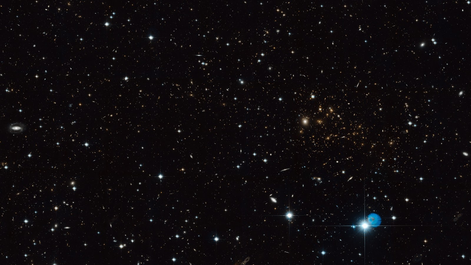 hubble galaxy hd clusters - photo #20
