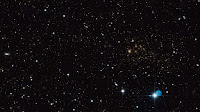 Hubble image of galaxy cluster MACS J0717