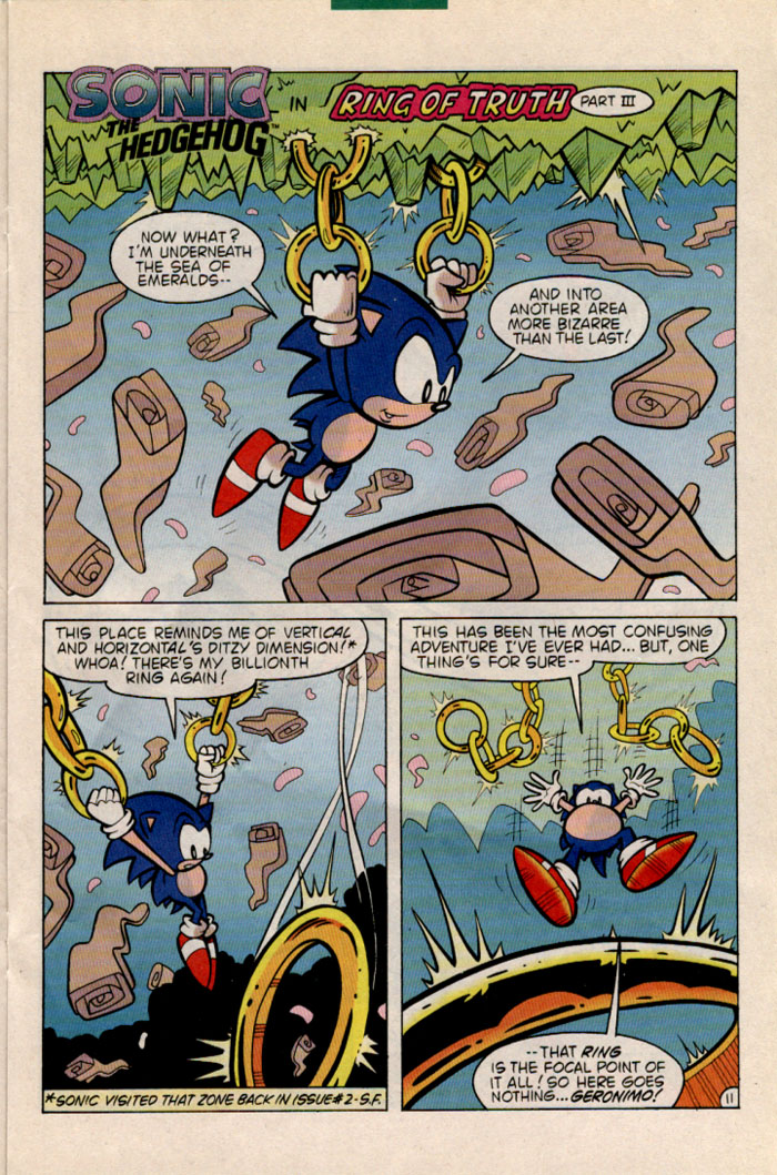 Read online Sonic The Hedgehog comic -  Issue #35 - 12