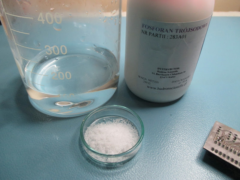 DIY water based PCB solvent: ingredients