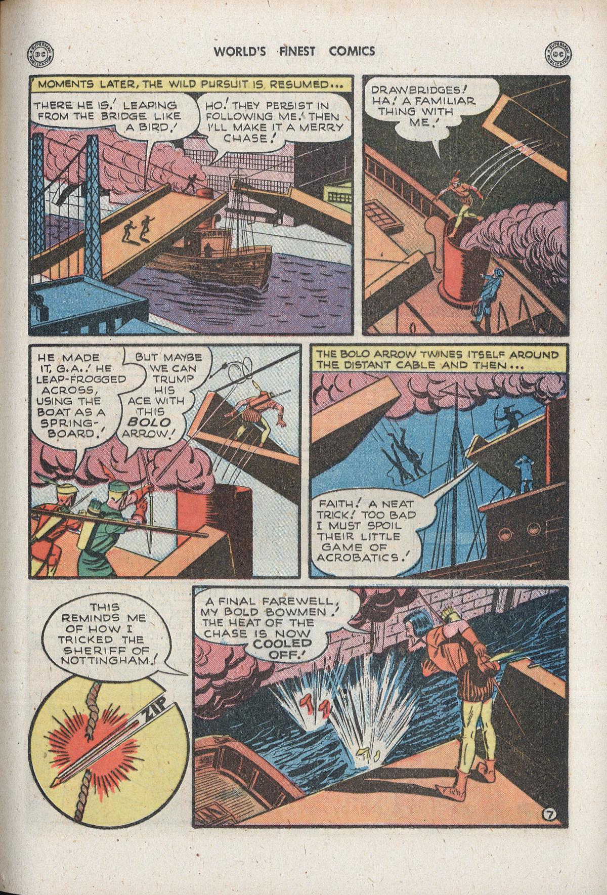 Read online World's Finest Comics comic -  Issue #33 - 23