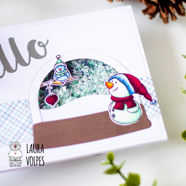 Winter Shaker Card feat Gerda Steiner Designs 3