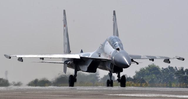 Indonesian Air Force Sukhoi Su-30 MK2
