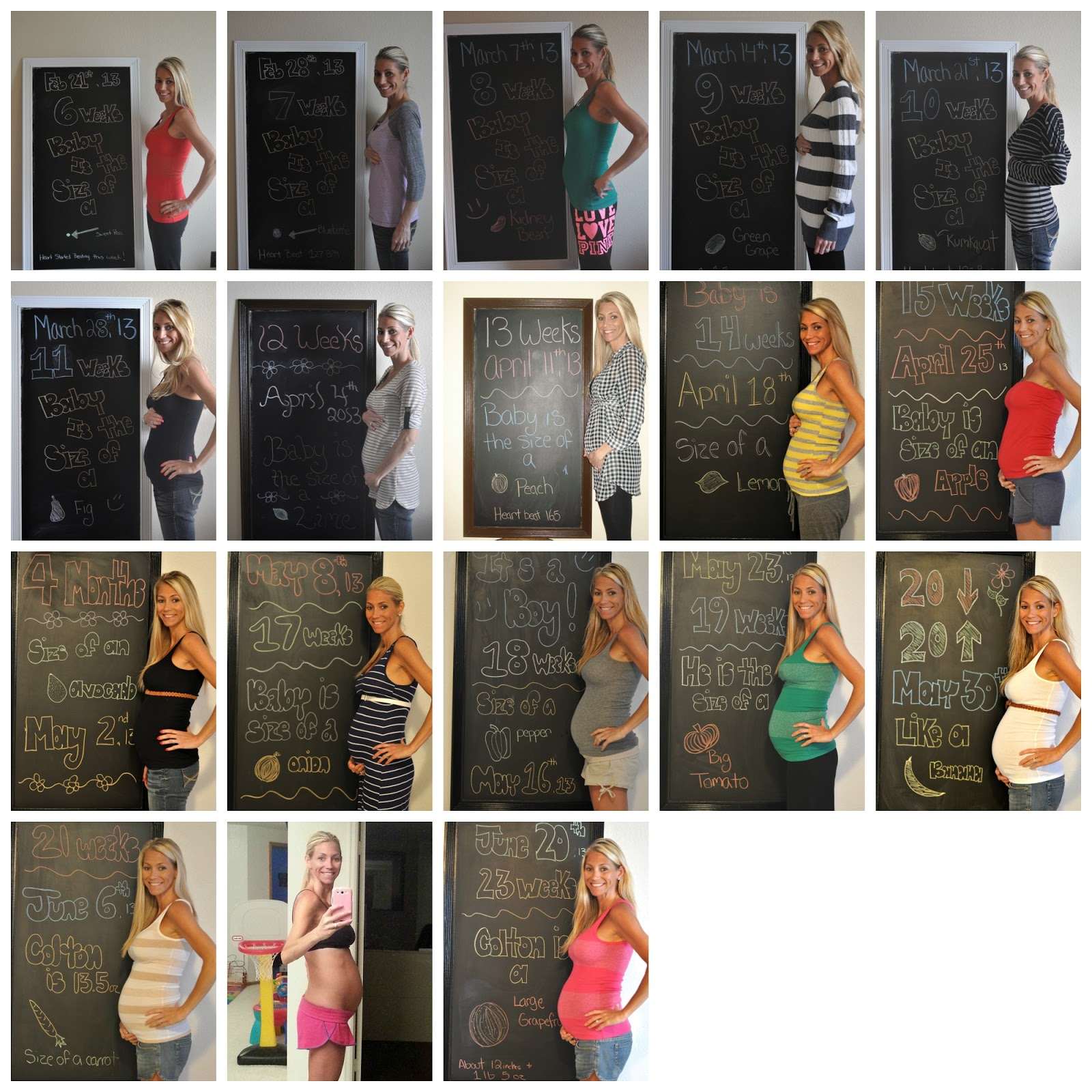 Pregnancy Week By Week Pictures Of Belly My pregnancy diary  weeks 6    Pregnancy Belly Week By Week Chart
