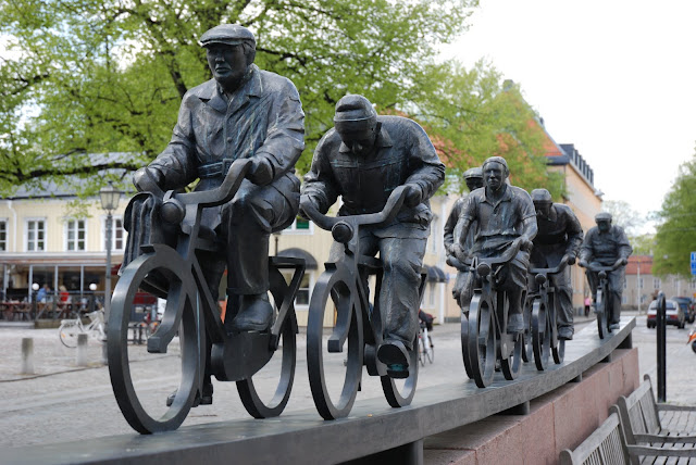 Five Sacred Monuments of Cycling