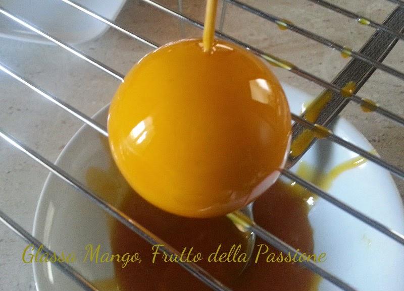 Mango caramello vaniglia i dolci di pinella - Glasse a specchio alla frutta ...