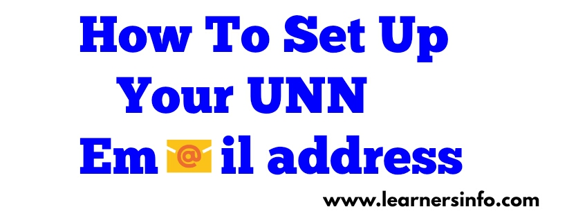 How to use UNN Email