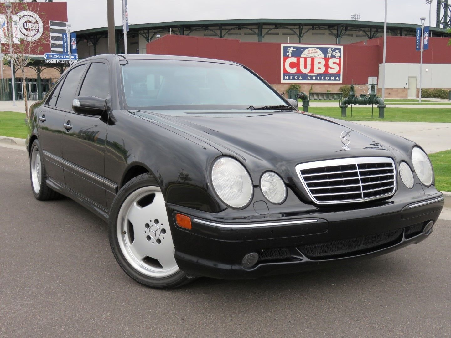 daily turismo auction watch 2002 mercedes benz e55 amg. Black Bedroom Furniture Sets. Home Design Ideas