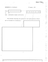 NSA Memo (pg 1) Re MUFON Conference - 1978