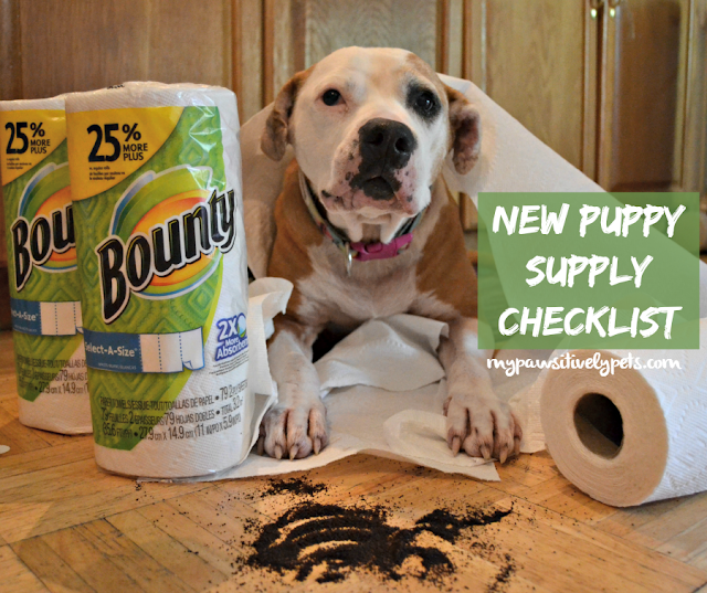 New Puppy Supply Checklist #QuickerPickerUpper