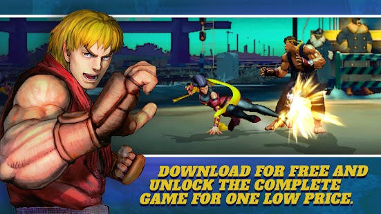 Street Fighter IV Champion Edition Apk Free on Android Game Download