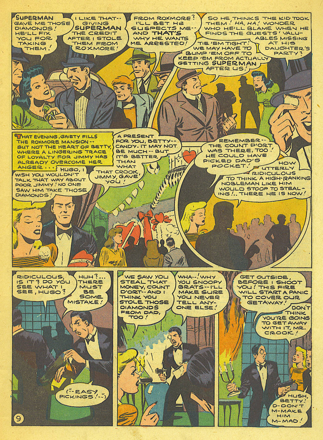 Read online Action Comics (1938) comic -  Issue #71 - 11